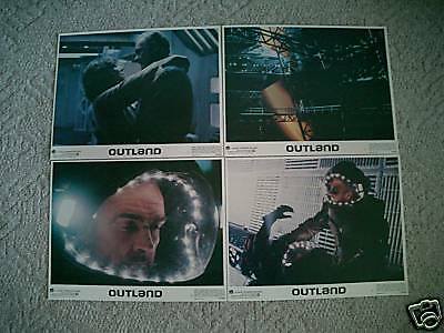 Outland~Original~11X14  Lobby Card Set 8~Mint~1981~Sean Connery