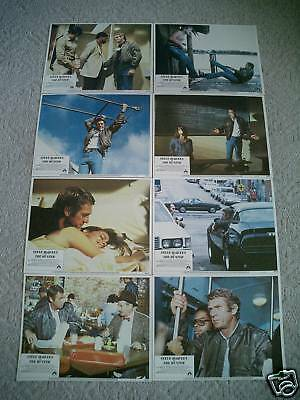 The Hunter~Original~Lobby Card Set Of 8~11X14~1980~Steve Mcqueen~Mint