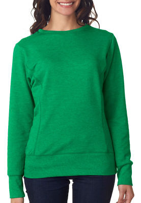 Anvil Women's Mid Scoop Knit Waistband French Terry Winter Fleece S-2XL. 72000L