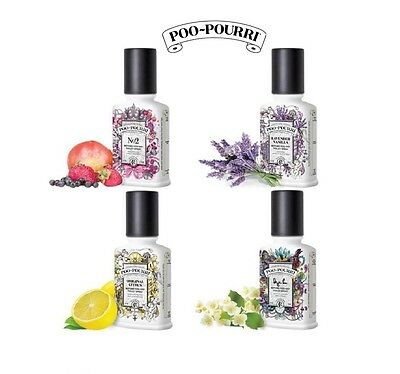 POO POURRI - BEFORE YOU GO TOILET SPRAY & AIR FRESHENER - Choice of 5 Fragrances