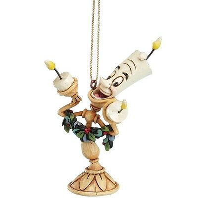 Disney Traditions A21430 Christmas Lumier Hanging Ornament