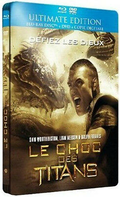 25524/le Chocs Des Titans Ultimate Edition Combo Dvd + Blu Ray Neuf Sous Blister