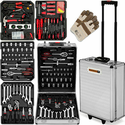 Serie di utensili 629 pezzi strumento toolbox offer toolbox trolley
