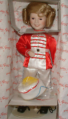 "The Danbury Mint Shirley Temple ""Poor Little Rich Girl"" Porcelain Doll"