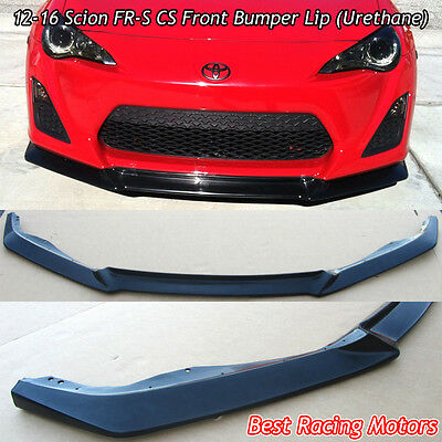 A Style Front Bumper Lip (Urethane) Fits 12-16 Scion FR-S / Toyota 86