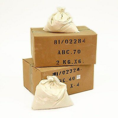 NEW ABC70 DRY POWDER FIRE EXTINGUISHER REFILL SACK - 1 x 25KG