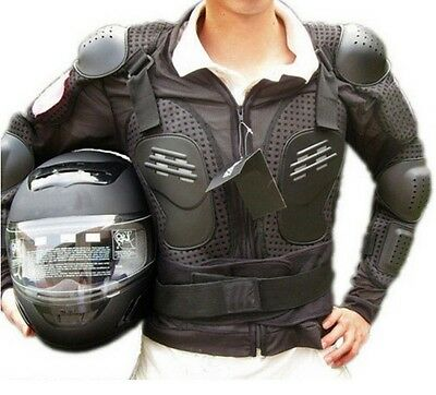 Full Body Motorcycle Dirt Motocross Racing Protective Armor Spine Jacket Gear CB