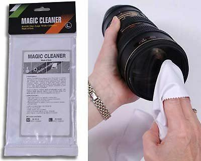 Matin Microfibre Cleaner Cleaning Cloth Large (380x320mm) for Camera/Screen