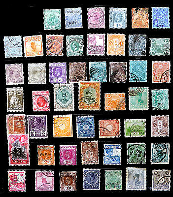 ASIATIC COUNTRIES - 50  Different Incl CHINA NEW PRICE BIN1944