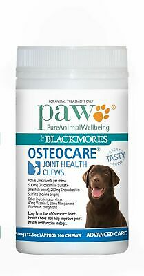 PAW Osteocare Dog Joint Health Chews with Kangaroo 300g/500g - Made in Australia