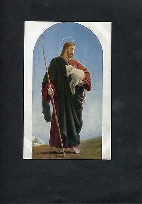 Postcard - The Good Shepherd Taken From The Painting By W.C. Dobson C1910
