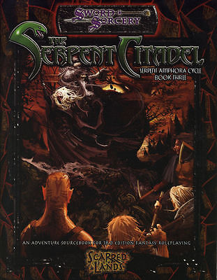 Sword  Sorcery : The Serpent Citadel  -   D20 3 -  RPG Softback - New