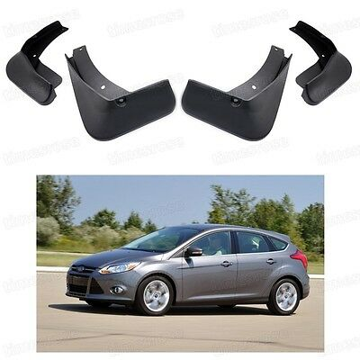 4Pcs Mud Flaps Splash Guard Fender Mudguard for FORD Focus MK3 HATCHBACK 2012-14