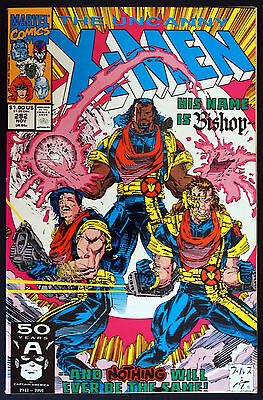 Uncanny X-Men #282 (Nov 1991, Marvel)  1st Bishop Appearance NM/MT