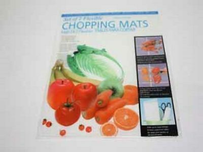 6 x Chopping Mat Twin Packs Flex Clear Kitchen Protect Surfaces Wholesale Lot