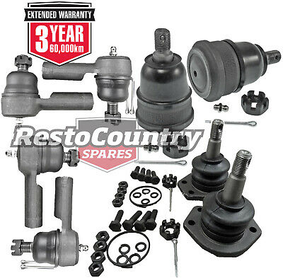 Holden Tie Rod Ends + Ball Joints Set HG HQ HJ HX HZ WB NEW Greasable