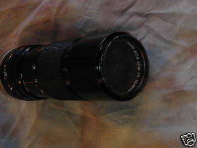 Canon FD 100-200mm F5.6 lens Canon AE-1, program,