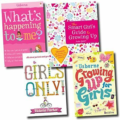 Guide Growing up for Girls Collection Girls only! What's happening to me 4 Books