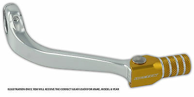 Suzuki Rm125 Rm 125 83-07 Mx Forged Alloy Flexi Tip Gear Shift Lever Pedal Gold