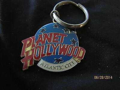 VINTAGE PLANET HOLLYWOOD ATLANTIC CITY  KEY CHAIN