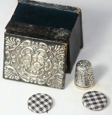 Original & RaRe ANTIQUE c1800 3pc STERLING & WOOD GEORGIAN BOX set~UnIqUe