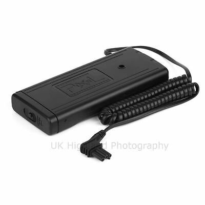 Pixel TD-382 External Flash Battery Power Pack for Nikon SB-900, SB-910 as SD-9