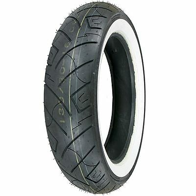New Pair White Wall Motorcycle Tires 150/80-16 And 100/90-19 777 Harley Davidson