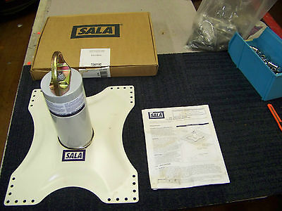 dBi/Sala Roof Anchor Model 2100070 Tip Over Roof Anchor with Base New