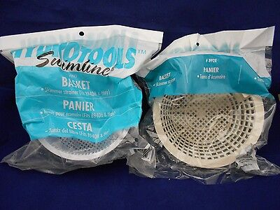 Hydrotools/Swimline Skimmer Baskets 2 styles /8928 w/out a handle/ 8943 w/handle