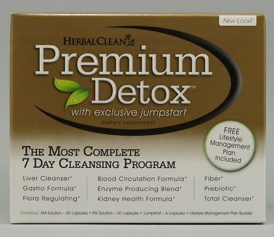 Herbal Clean Premium Detox 7 Day Kit - BRAND NEW FROM FACTORY