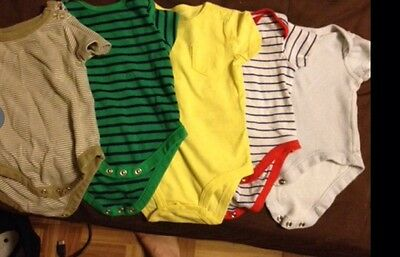 Size 0-3Month Casual Onesies In Great Shape- Package Deal!