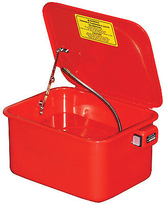New Workshop Garage Mechanics Table Top Automotive Parts Washer 15 Litres