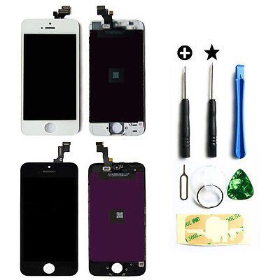 Touch Screen Digitizer +LCD Assembly For iPhone5 5S 5C Replacement  by wholesale