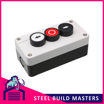 Roller Shutter - Up/down/stop Push Button Control Switch Geba Ip65 Rated