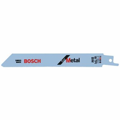 "BOSCH RM618 6"" 18T Metal Reciprocating Saw Blade - 5 pack"