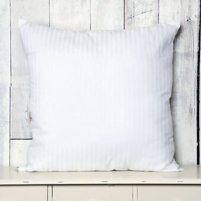 Egyptian Cotton Continental Style Pillow Large 80 x 80cm Bounce Back Hollowfibre