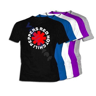 Camiseta Red Hot Chili Peppers XXL- XL- L- M S Size No CD Concierto T Shirt  Tee