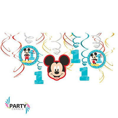 Mickey Mouse Clubhouse Happy Birthday Party Poster Banner