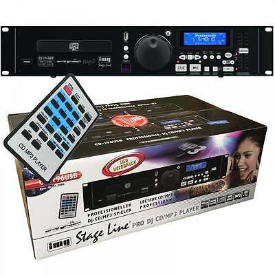IMG Stage Line CD-196USB Professional MP3 CD Player + USB Drive Support & Remote