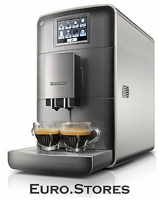 Panasonic NC-ZA1 HXE Bean to Cup Coffee Machine Touchscreen Silver Genuine NEW
