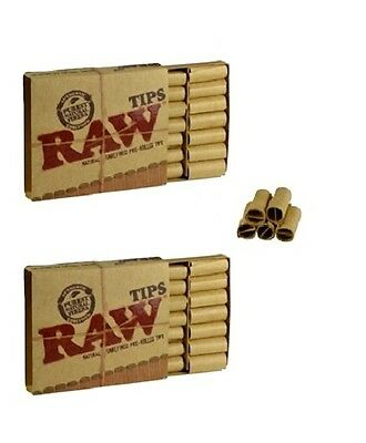 42 Raw Pre Rolled Unrefined 2 Pk Prerolled Cigarette Filter Rolling Paper Natura