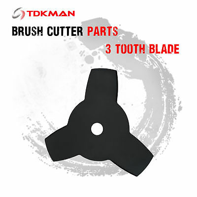Brush Cutter Brushcutter Cutting 3 Tooth Blade Replacement Parts Whipper Snipper