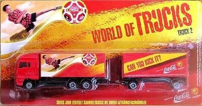 Coca-Cola - MAN TG  HZ - WORLD OF TRUCK - Truck 2 2004 -  (OVP) NEU