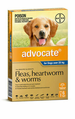 Advocate Flea & Worm Control for Dogs over 25kg
