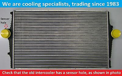Brand New Intercooler Volvo S60 / S80 / V70 / Xc70 Petrol / D5 With Sensor Hole