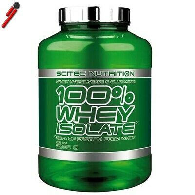 Scitec Nutrition - 100% Whey Isolate, 2000 g (2 Kg) Proteine siero latte isolate