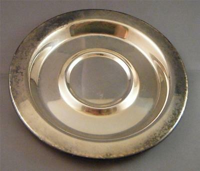 """Vintage Wm A Rogers Oneida Silversmiths Silver Plated Small Saucer Plate Dish 6"""""""