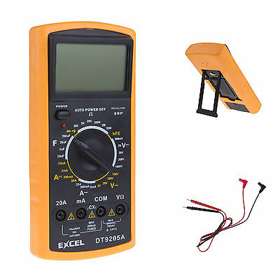 High Accurate Digital Multimeter Electronic Automatic Voltmeter Ammeter Ohmmeter