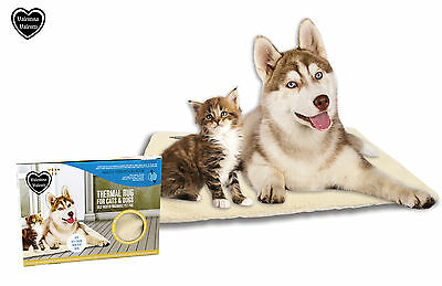 Valentina Valentti Large Self Heating Thermal Pet Pad Bed Rug Cats & Dogs XXL