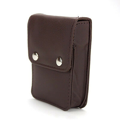 Poker Card Holder for Single Deck of Playing Cards Synthetic Leather Case